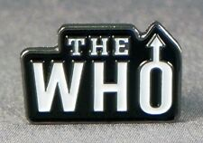 Metal Enamel Pin Badge Brooch The Who Mod Rock Band Music