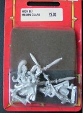 MAIDEN GUARD x3 WARHAMMER High Elf Guardia de Doncellas Altos Elfos Aelf