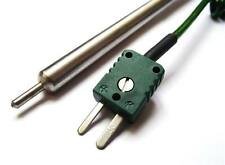 Type K thermocouple stainless steel heavy duty sensor