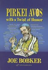 NEW Pirkei Avos with a Twist of Humor by Joe Bobker Paperback Book (English) Fre