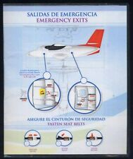 RAINBOW AIR caraibe LET 410 SAFETY CARD no viasa tupolev ilyushin airlin ee e138