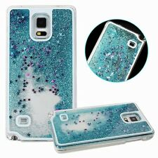 Glitter Bling Stars Liquid Novelty Colourful Phone Case Cover For Samsung& Apple