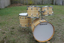 """Vintage 1976 Ludwig 24,14,15,18 Kit. 3 Ply w/rerings. """"One Owner"""" A Beauty!"""