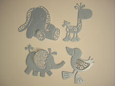 New Tattered Lace Blue Pearlescent Baby Boy Die Cut Card Toppers