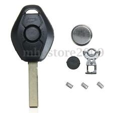 3 Buttons Remote Key Fob Case Micro Switch Battery Repair For BMW E46 3 5 7 Z3