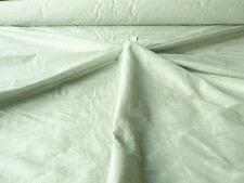 "HANDLOOM 100% SILK DUPION 54"" wide DUCK EGG BY HALF MT"