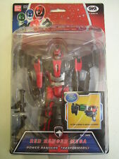 POWER RANGERS S.P.D. RED RANGER MEGA TRASFORMABILE