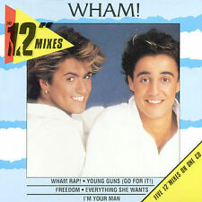 "12"" Mixes by Wham! (CD, Feb-1998, Sony)"