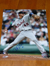 RICK PORCELLO Detroit Tigers Signed 8x10 PhotoFile Photo AUTO Picture Autograph