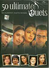50 ULTIMATE DUETTE- NEU ORIGINAL 50 SUPERHIT DUETT BOLLYWOOD SONGS 4CD SET