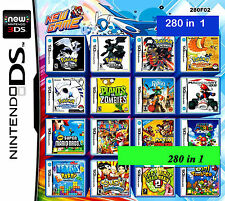 Freeship 280 games cartridge Nintendo multigame card 2DS/ DSLITE/DSi/3DS/3DS Xl