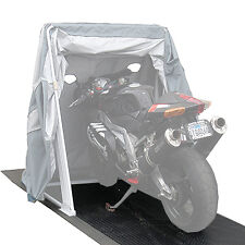Speedway Motor Shelters Motorcycle Shelter Floor Motorcycle Covers