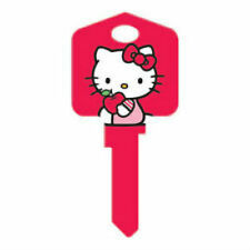 "HELLO KITTY "" RED "" House Key Blank WEISER WR SANRIO TV"