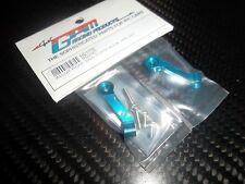 GPM MB332R renforts de SKID arrière aluminium bleu HPI MINIZILLA