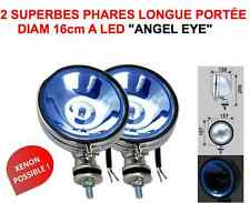 2 SUPER PHARES CHROME+LED ! HARLEY GOLDWING DUCATI BMW! ROUTE OU COMPETITION!