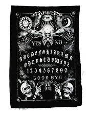 Too Fast Rat Baby Gothic Goth Punk Spirit Board Graphic Black Canvas Back Patch