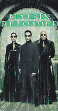 The Matrix Reloaded (VHS, 2003) Keanu Reeves, Laurence Fishburne - New Sci-Fi