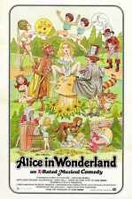Alice In Wonderland Poster 01 A4 10x8 Photo Print