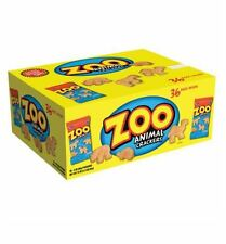 Austin Zoo Animal Snack Crackers (36ct) Individual Bags