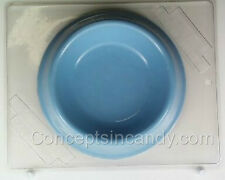 DOG DISH POUR BOX CLEAR PLASTIC CHOCOLATE CANDY MOLD AO124