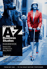 Complete A-Z Business Studies Handbook, Ian Marcouse, Barry Martin, David Lines