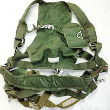Canadian Military Airborne Parachutist Jump Harness Assembly