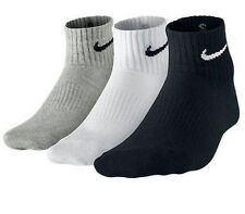 Pack of 3 pairs nike logo Sports ankle length cotton towel socks