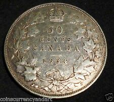 Canada 1934 Fifty Cents