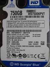Western Digital 750 GB WD 7500 KPVT - 00ht5t0 DCM: hbbvjbb | 05jun2013 disco rigido