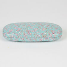 Sass and Belle Glasses case - Mint Floral design Hard glasses case