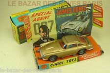 CORGI TOYS. GB. ASTON MARTIN DB5 James Bond 007.  + Boite
