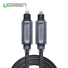 Ugreen Toslink Optical Digital Cable SPDIF Lead Cord For Xbox CD DVD PS3 10FT