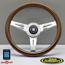 Nardi Steering Wheel ND CLASSIC WOOD Grain Polished Spokes 330mm 5061.33.3000