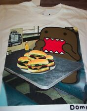 DOMO EATING CHEESE BURGERS T-Shirt LARGE NEW w/ tag