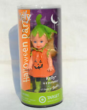 Halloween Party Kelly doll is a Pumpkin #56750 NRFB 2002