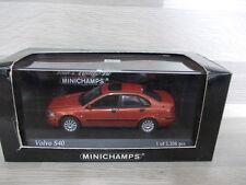 Minichamps 1/43 - volvo s40 - 2000-rojo met
