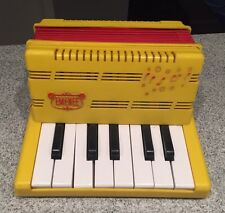 Vintage 1960s Emenee Musical Toys Plastic Toy Keyboard Accordion