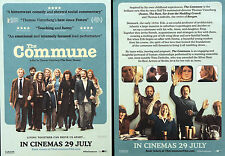 2 X THE COMMUNE MOVIE FILM FLYERS - TRINE DYRHOLM THOMAS VINTERBERG