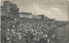 # 453 The Beach from West Pier Brighton Good Condition