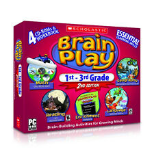 Learning PC games for kids,Scholastic Brain Play 1st - 3rd,Addition,Subtraction