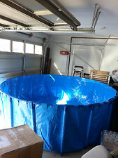 """Foldable Round Koi Show Tank For Indoor & Outdoor Pond ( 98.4"""" x 39.4"""" )"""
