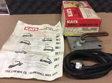 NOS NEW KAT'S DIESEL ENGINE HEATER CM-2 WITH 120V 1500 WATTS