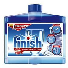 FINISH DISHWASHER CLEANER 250ML INTENSIVE CLEANER AND CARE FOR SPARKLING RESULTS