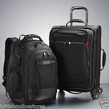 Samsonite Prowler 2 Piece Spinner Business Luggage Set Backpack & Carry-on Set