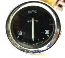 CLASSIC CAR SMITHS AMP GAUGE - 5.5cm Vintage Meter Garage Old Auto Automobile