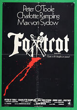 S03 SOGGETTONE FOXTROT PETER O'TOOLE MAX VON SYDOW CHARLOTTE RAMPLING