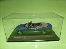 MINICHAMPS  1:43  MERCEDES BENZ  CL 500  CABRIOLET  - GOOD CONDITION IN BOX