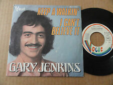 "DISQUE 45T DE  GARY JENKINS  "" KEEP A WALKIN' """