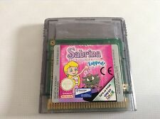 JEU NINTENDO GAME BOY @@ COLOR @@ ADVANCE @@ SABRINA THE ANIMATED SERIES ZAPPED