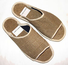 Woman All Natural Hemp Slippers handcrafted size 7